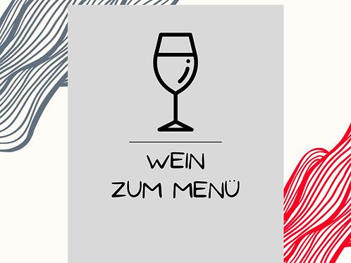 Wein zum Menü!