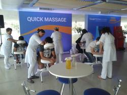 Quick Massage - Evento Google