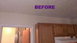 Kitchen Wall Crack