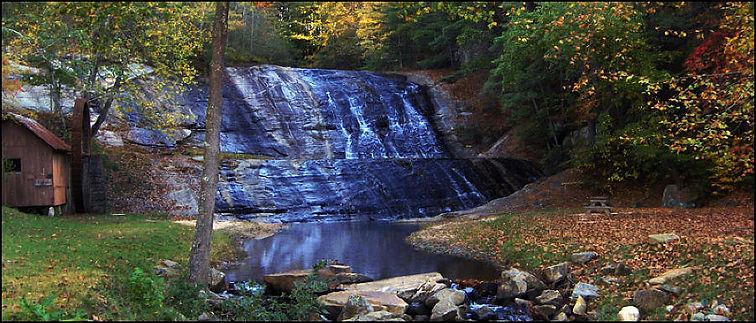Moravian Falls Water Falls in NC