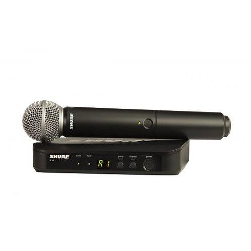 Shure BLX24/SM58 Wireless handheld Micphones