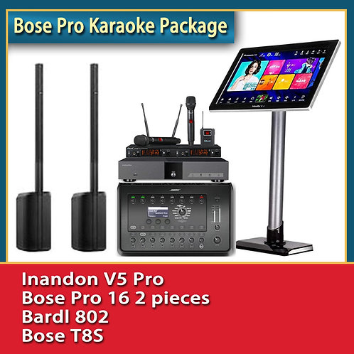 BOSE Premium Karaoke Machines