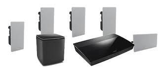 Bose life style 600 inwall