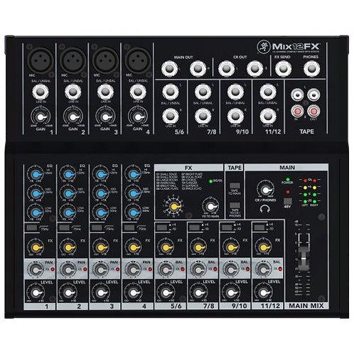 Mackie Mix12FX compact 12 mixer