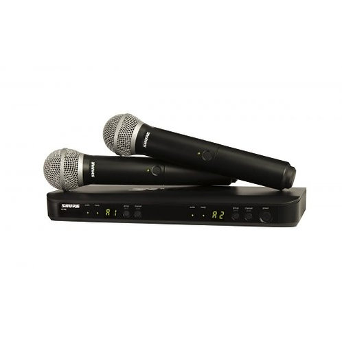 Shure BLX288/PG58 Dual Wireless mciphones systems