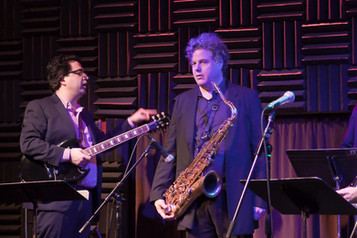 With Lenny Pickett, My Funny Detective Album Release Show, Joe's Pub, NYC, 2012
