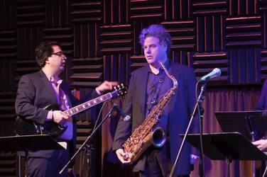 With Lenny Pickett, My Funny Detective Album Release Show, Joe's Pub, NYC, 2012