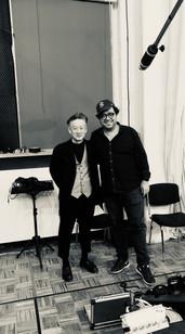 With Jun Miyake, Brussels, 2018