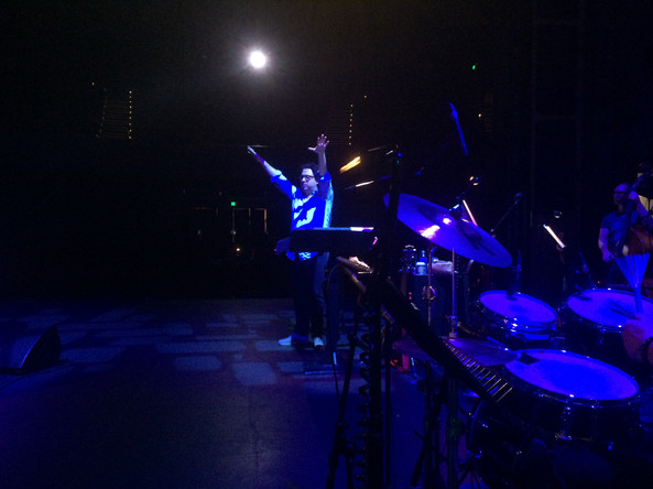 Conducting Tommy, Adelaide Festival, 2015