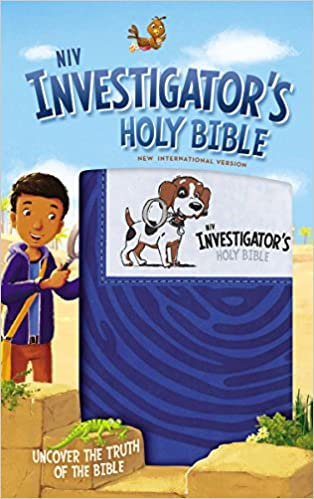 Investigator's Holy Bible, Leathersoft, Blue