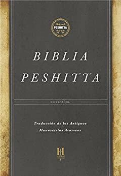 Biblia Peshitta, negro imitación piel con índice Revisada y aumentada