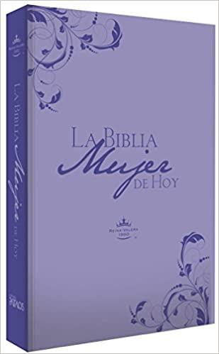 La Biblia Mujer De Hoy - Piel Especial Lila-Reina-Valera 1960