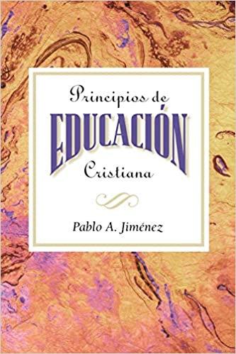 Principios de Educacion Cristiana