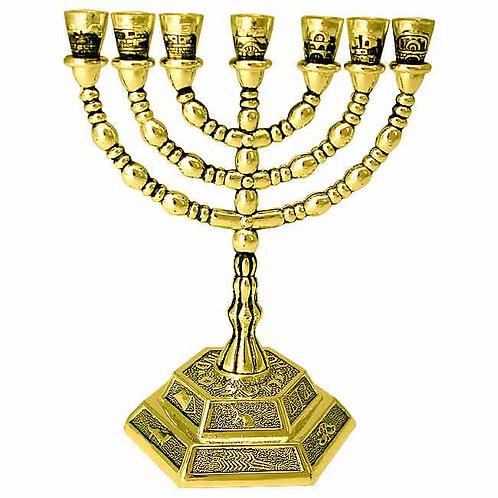 Tribes of Israel Menorah