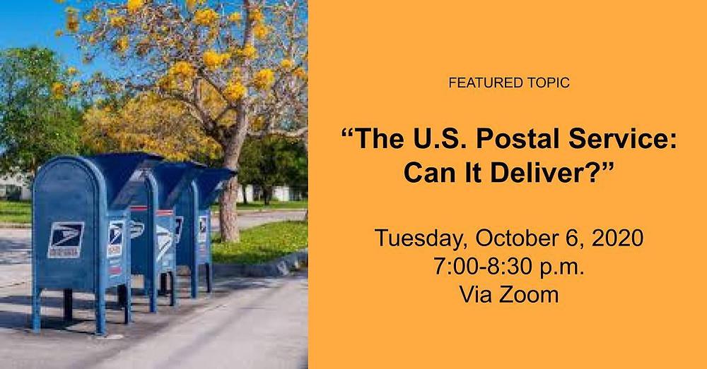 October 6, 2020 meeting announcement