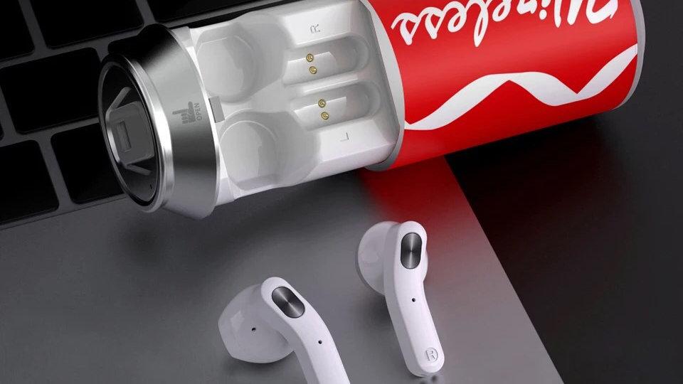 Soda Can Earphones