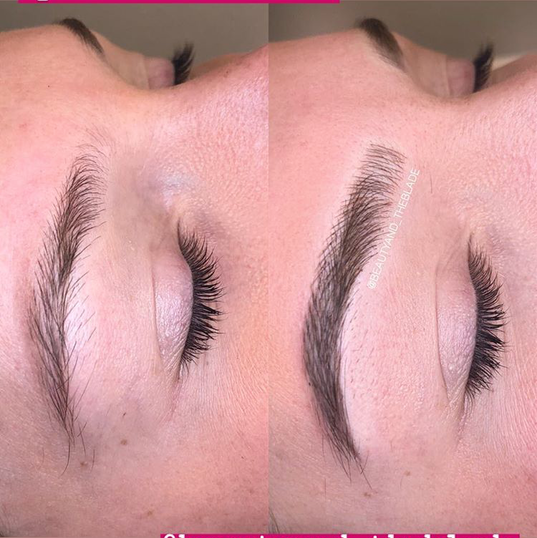 Microblading by Emily on Miss Virginia USA