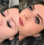 ombre combo brows