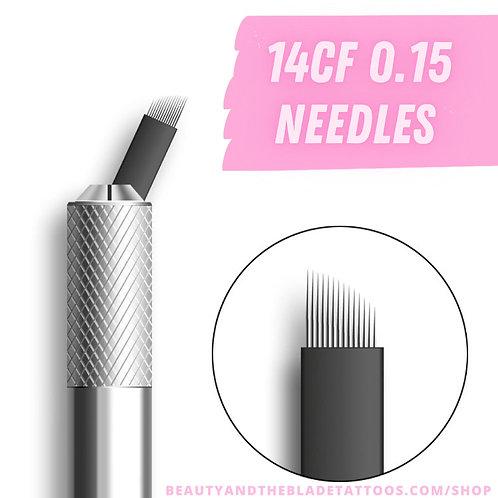 14CF 0.15mm Microblading Needles