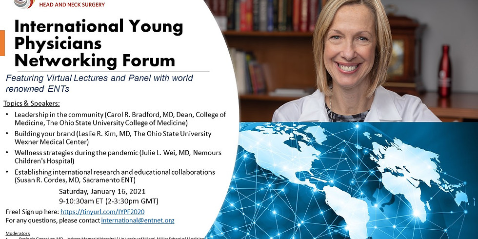 AAO-HNS International Young Physicians Networking Forum