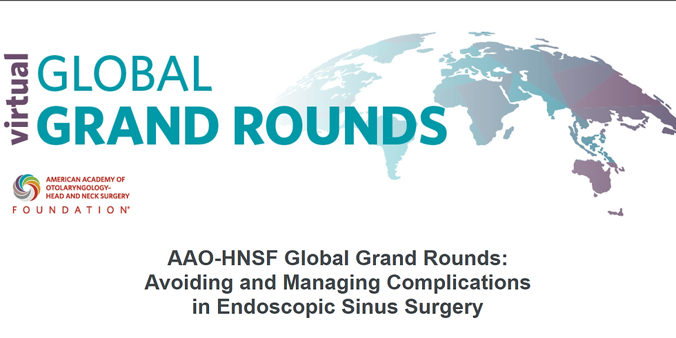 Global Grand Rounds - From UPPP to Neurostimulation