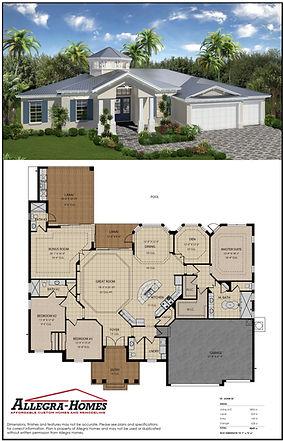 Brand New Floor Plan from Allegra Homes