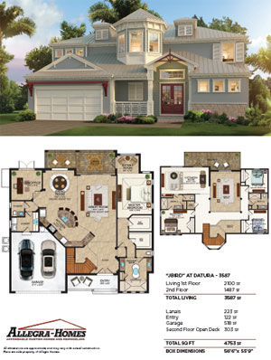 Popular Home Model from Allegra Homes