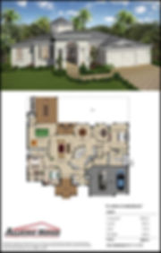 Popular Floor Plan for Custom Home
