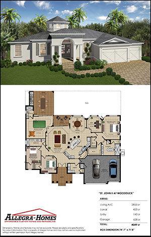 Popular Floor Plan for Custom Home