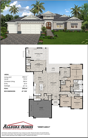 Functional Space, Flexible Facade from Allegra Homes