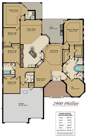 Lots of Living Space and Beautiful Design