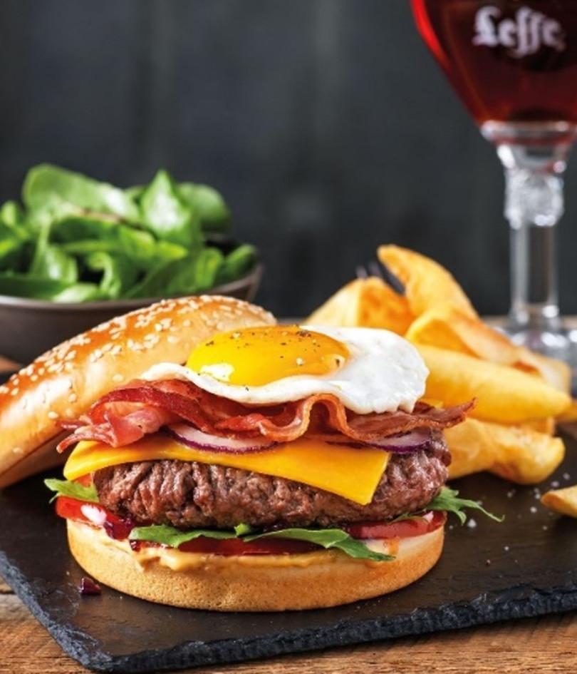 Burger à cheval L.