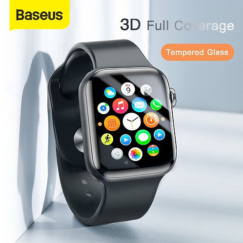 3D Full Coverage Tempered Glass for iWatch 4 3 2 Screen Protector