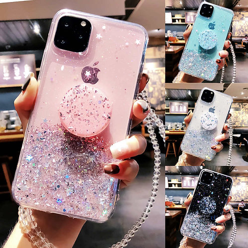 Bling Glitter Case for iPhone 11 Pro Max 11 Pro 11 XS XR X XS Max 6s 6 7 8