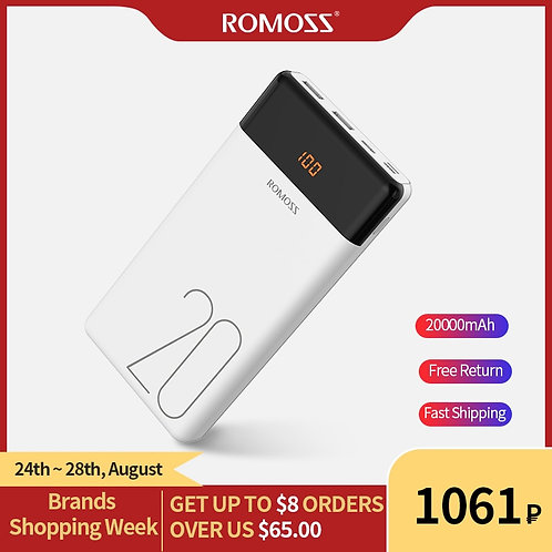 Powerbank External Battery With LED Display Fast Portable Charger