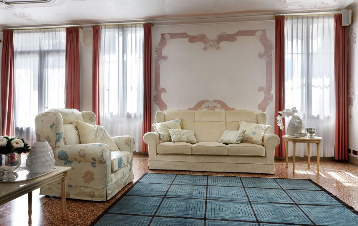 HAMILTON, sofa i fotel klasyczny
