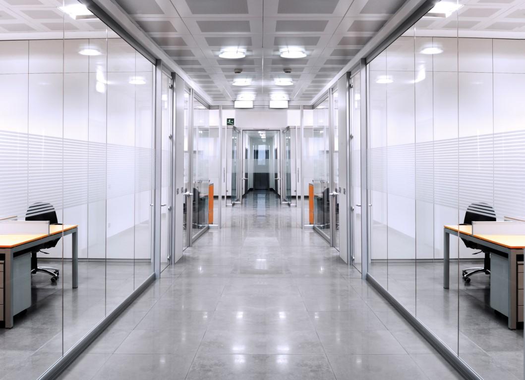Ścianki działowe - korytarz.