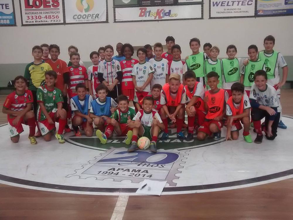 Torneio Interno na Apama Futsal