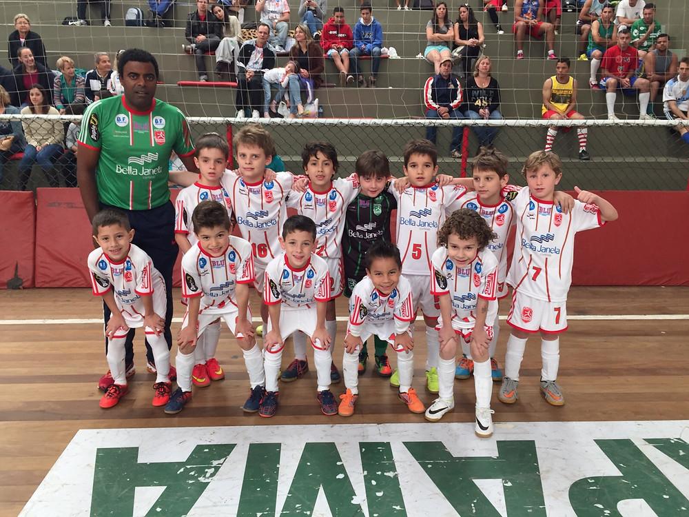 Equipe Sub7 da Apama Futsal