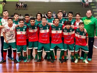 Equipe Sub15 da Apama encara o CRC em Chapecó
