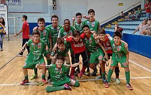 Sub13 da Apama Futsal vence o Campeonato Municipal de Futsal 2016 de Indaial