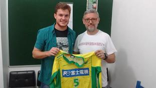 Apama Futsal recebeu uma visita especial nesta quinta-feira (03/12)