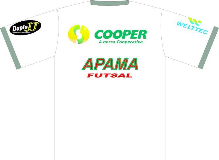 Modelo das Costas da Camiseta da Apama