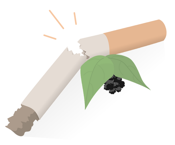 Quit Smoking using black pepper and Füm