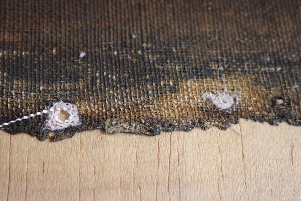 Incrustations de fils en escargot