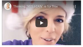 """Der Gedanke """"YES I CAN"""" ist kostenfrei!"""