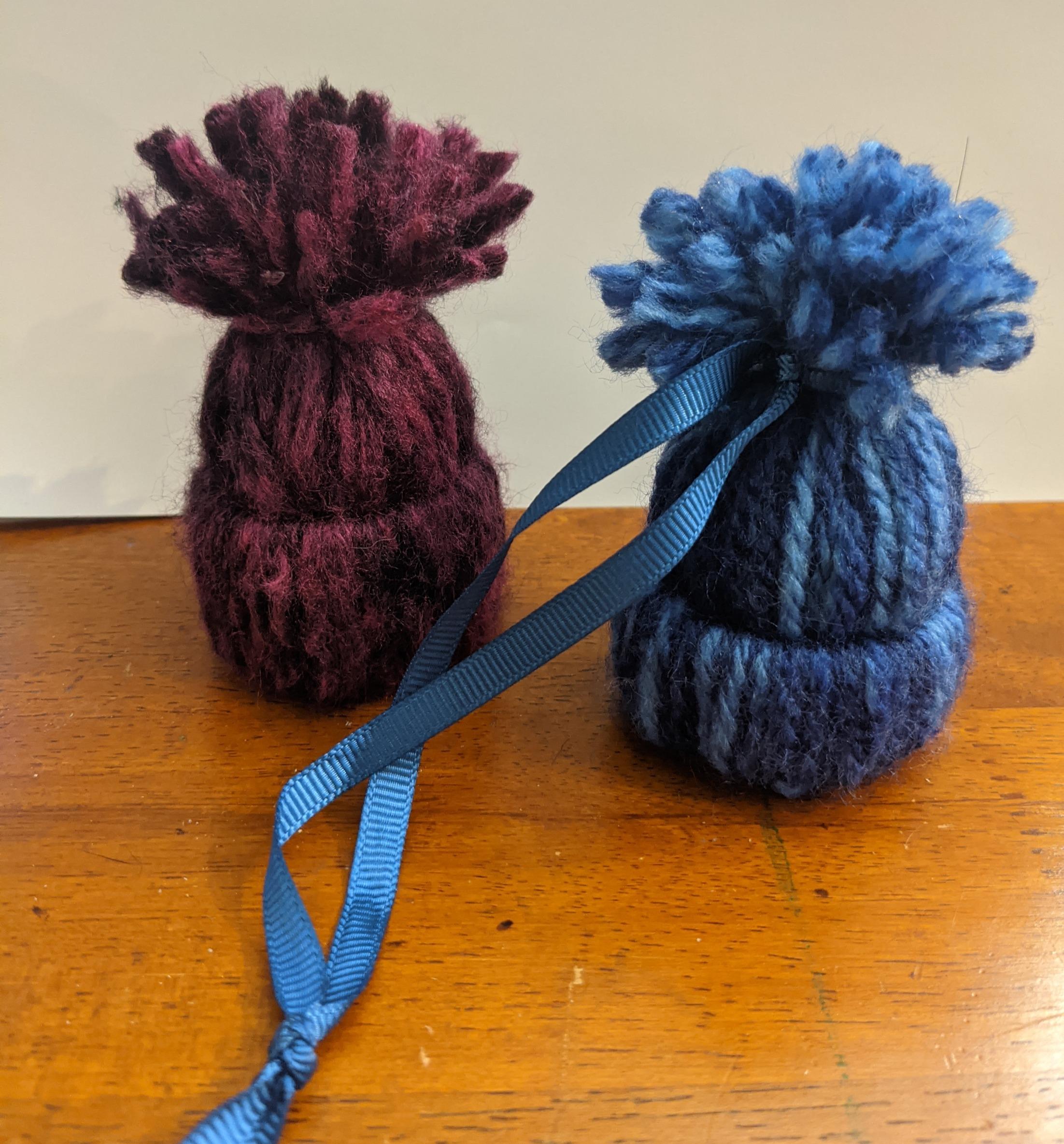 Yarn Wrap Hats