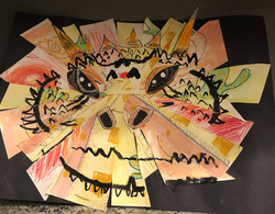 Thorny Devil Collage by NC