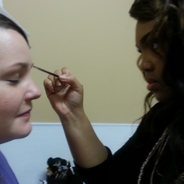 _BMEWorldwide _eyebrowqueenmakeup__poshmakeupacademy #bridalshow #weddings