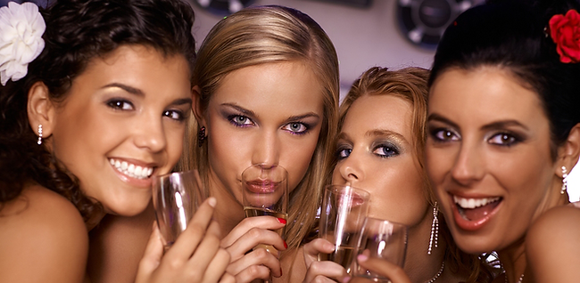 Makeup & Martinis Party